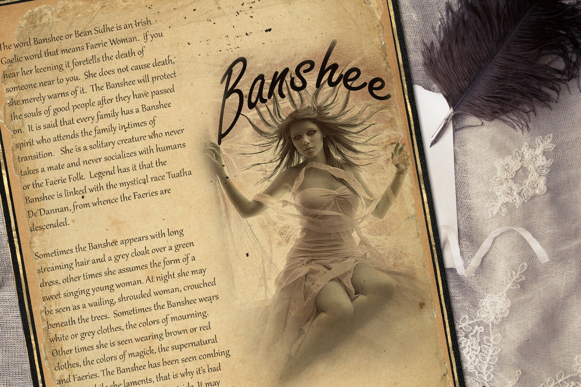 BANSHEE  Realm of the Fey Lore