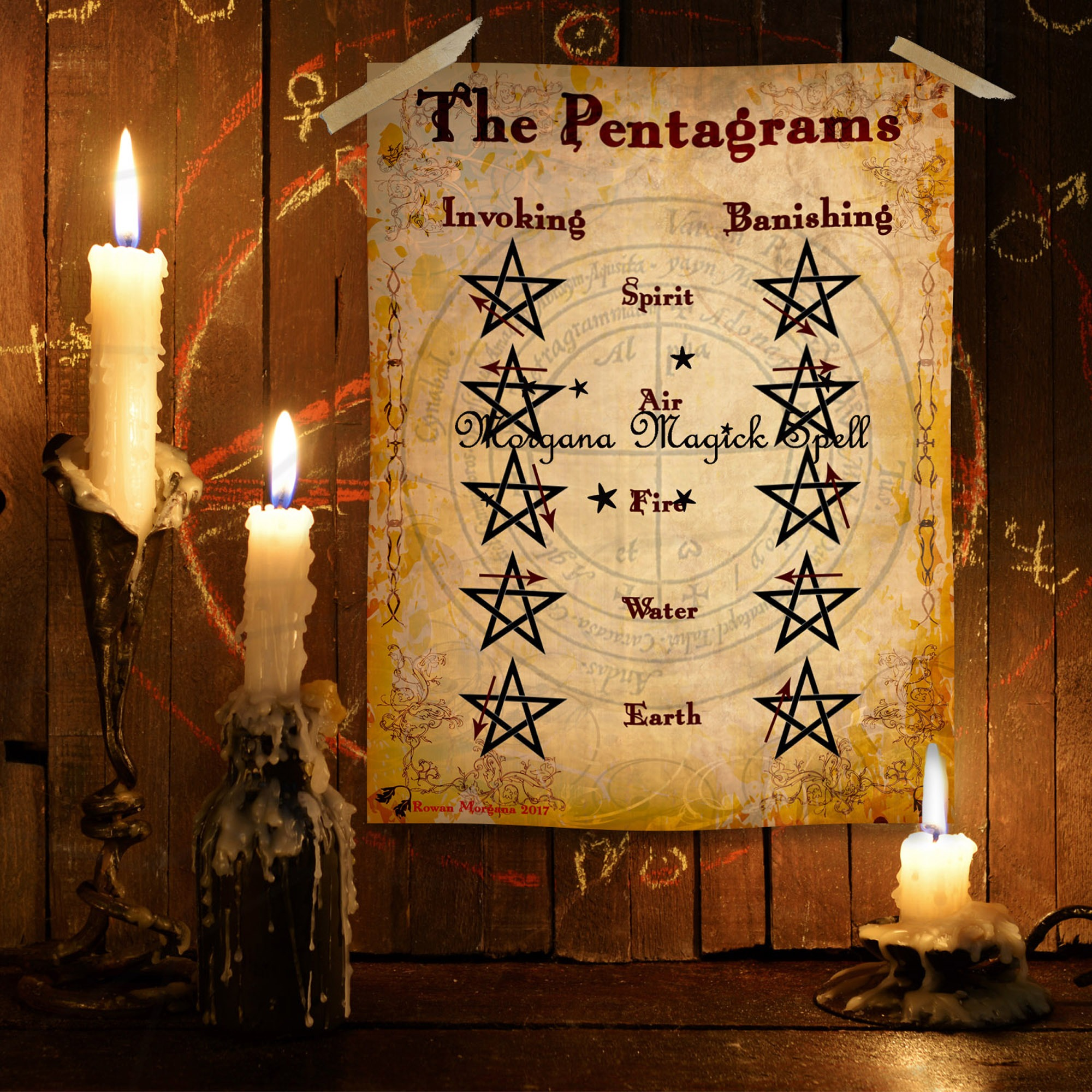 The PENTAGRAMS