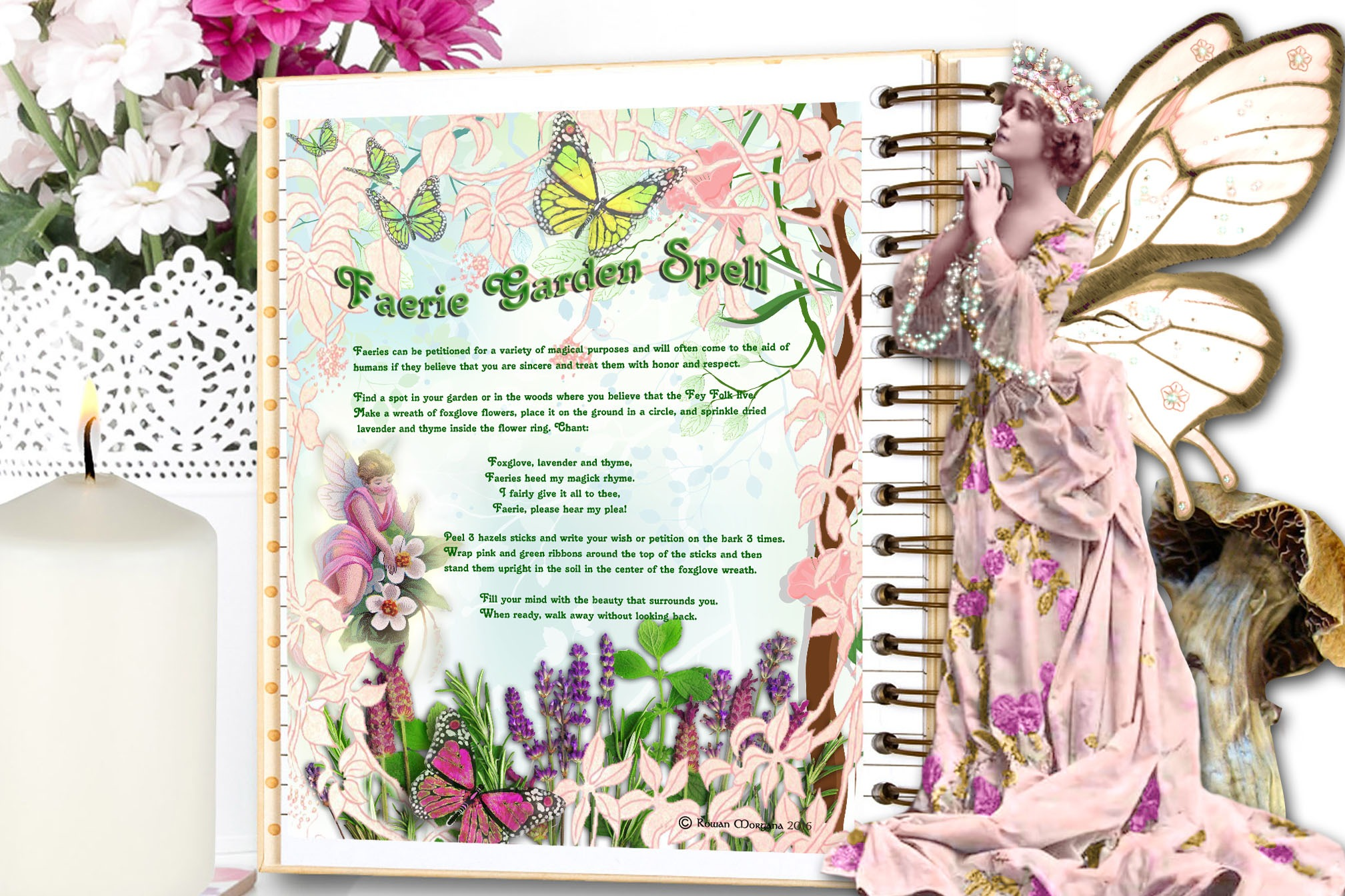 FAERIE GARDEN SPELL Realm of the Fey Lore