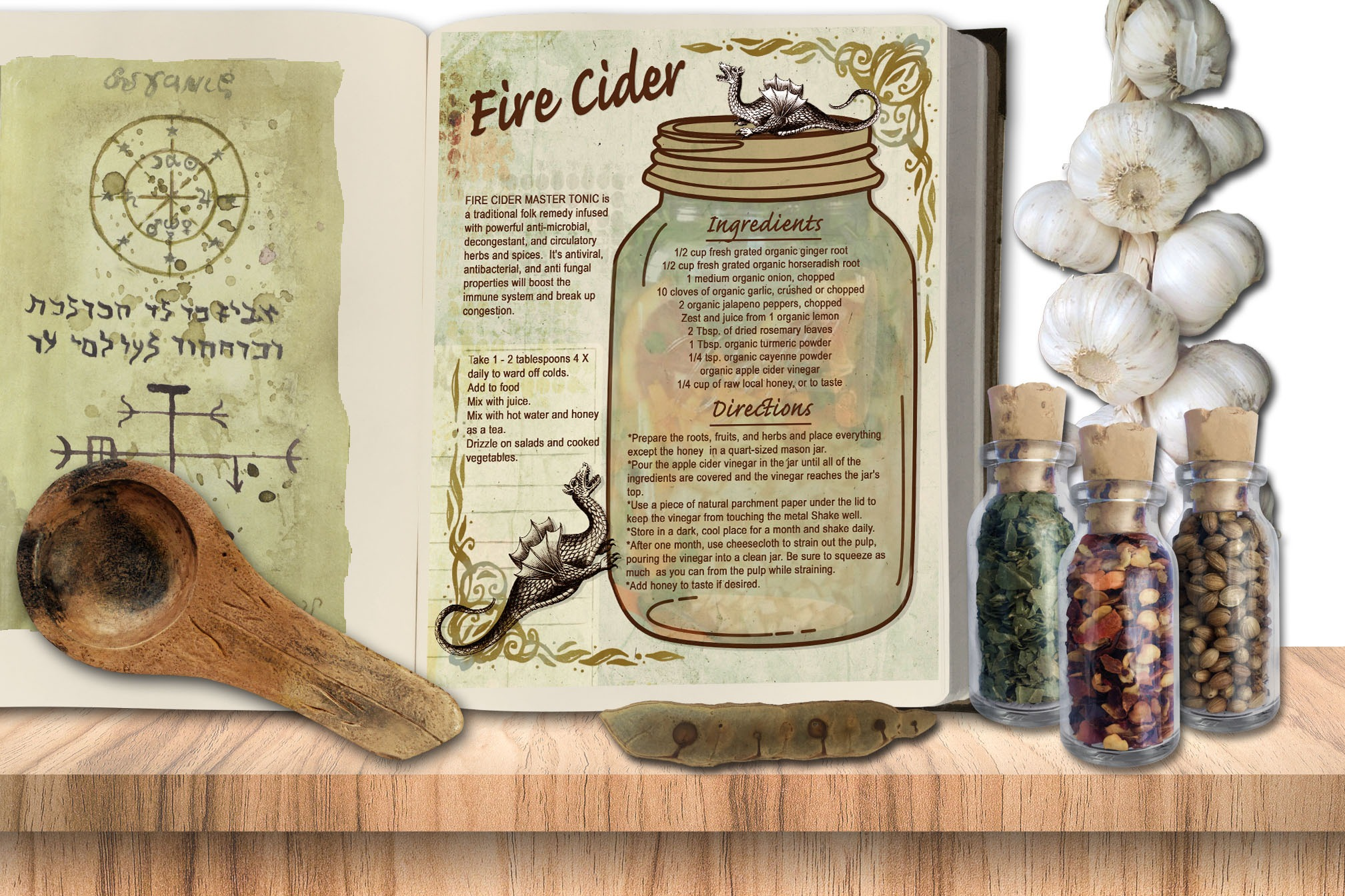 FIRE CIDER RECIPE
