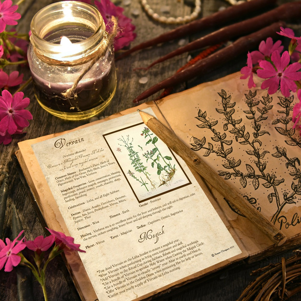 VERVAIN MAGICK HERB