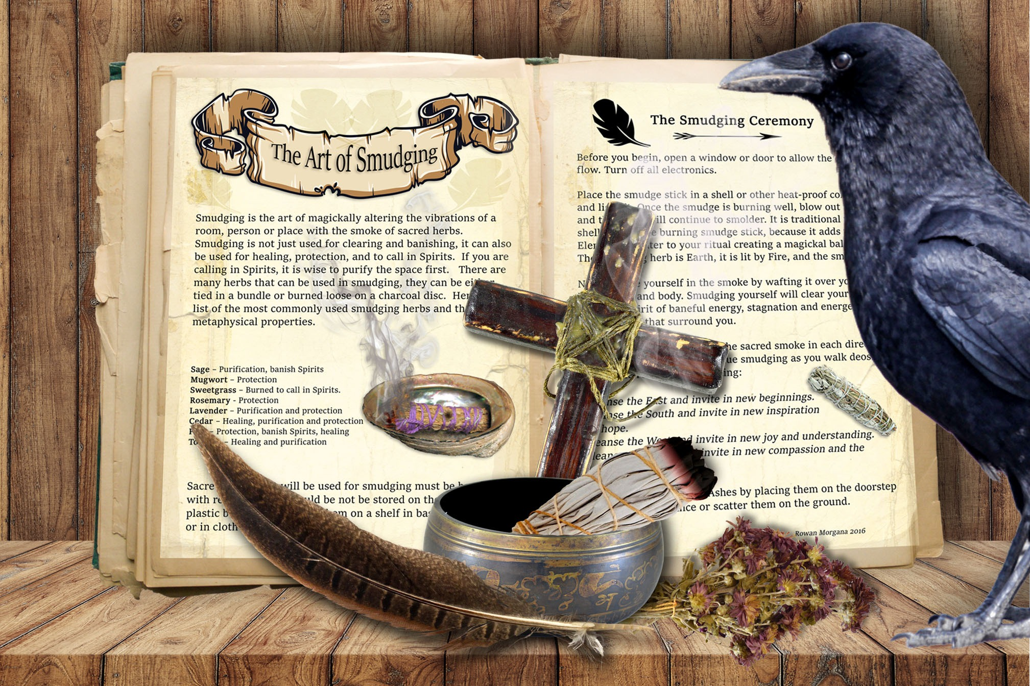 The ART of SMUDGING - 2 pages
