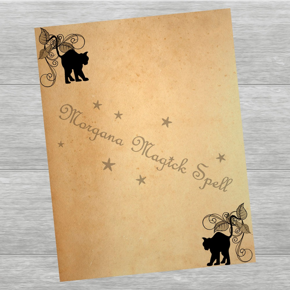 WICCAN Blank Pages