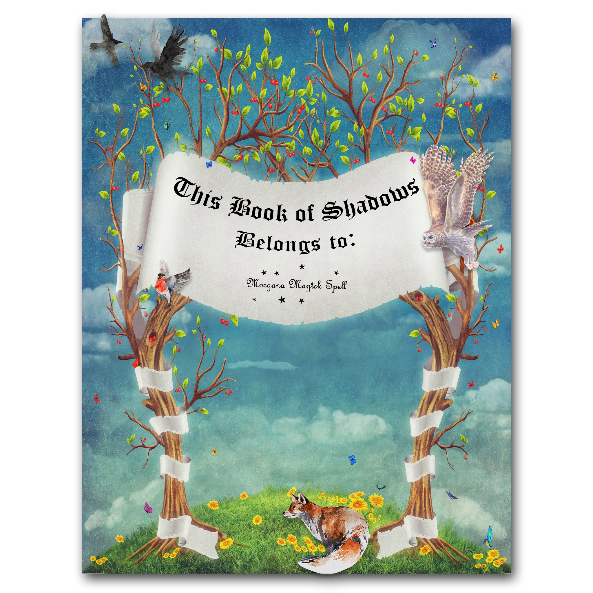 BOOK of SHADOWS FANTASY Front Page