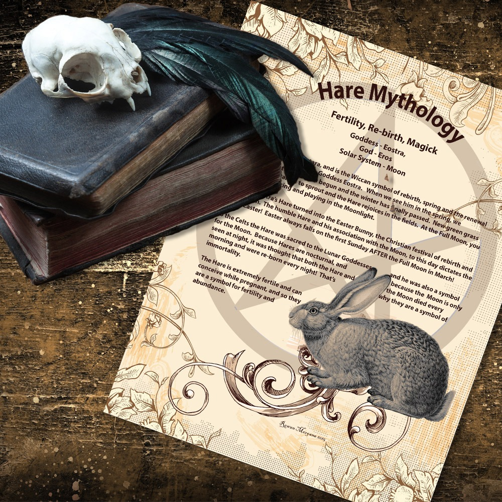 HARE MYTHOLOGY and CORRESPONDENCES