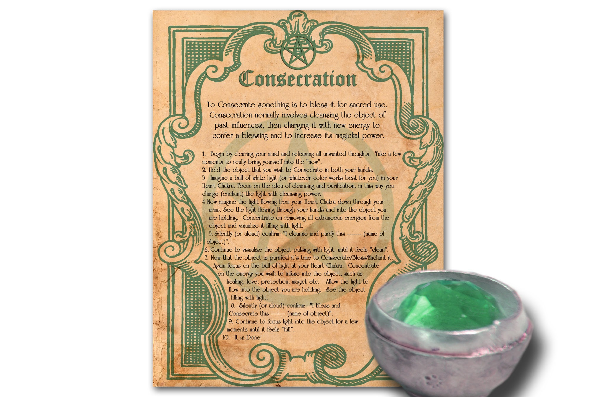 CONSECRATION  GUIDE