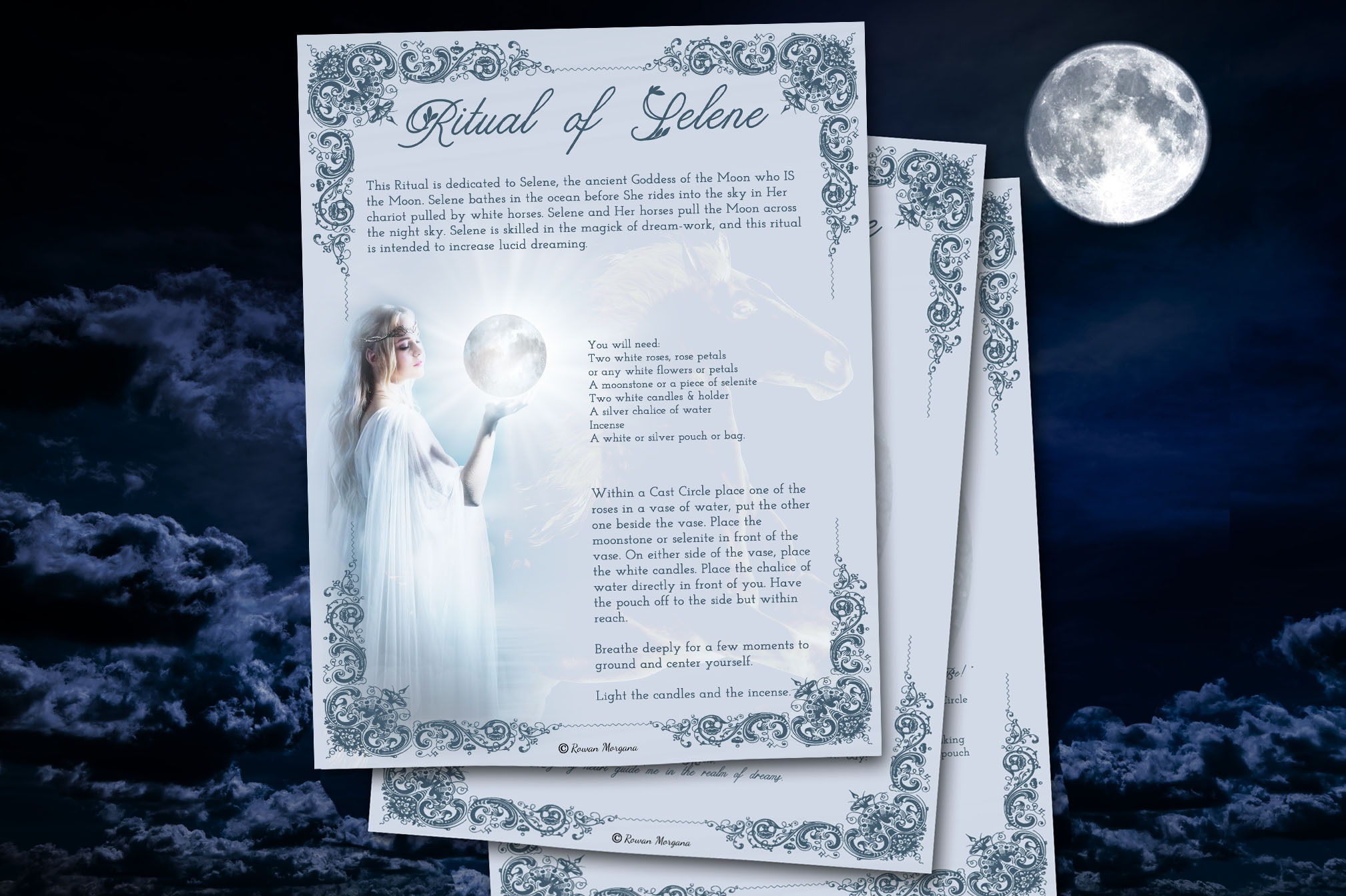 RITUAL of SELENE for Lucid Dreaming