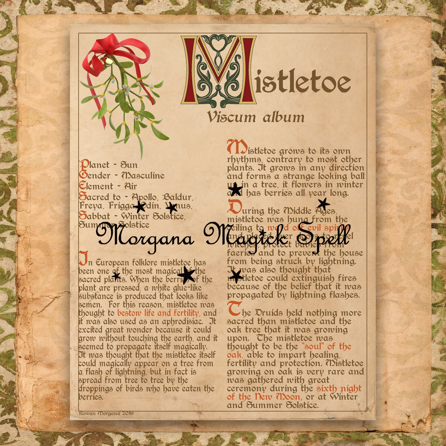 BANEFUL MISTLETOE