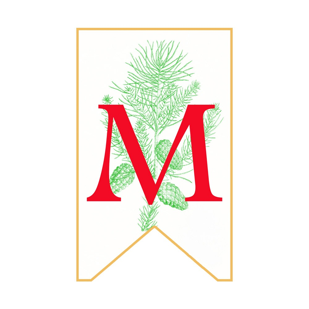 MERRY YULE BANNER  Printable Bunting  Decoration