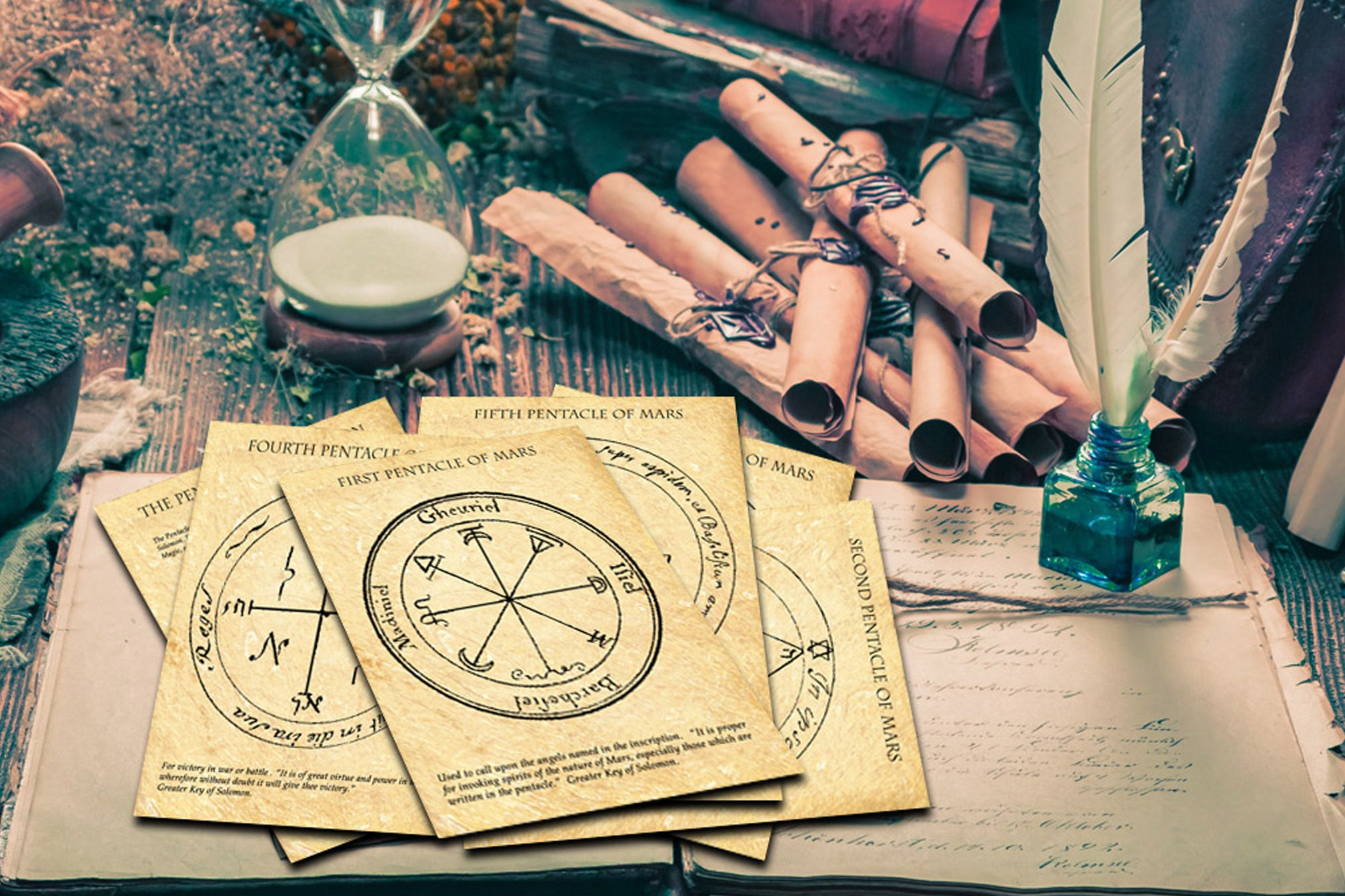 MARS  Pentacles of Solomon