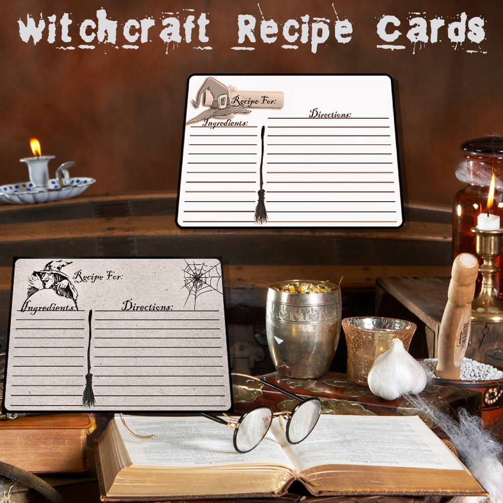 WITCHCRAFT RECIPE CARDS # 2