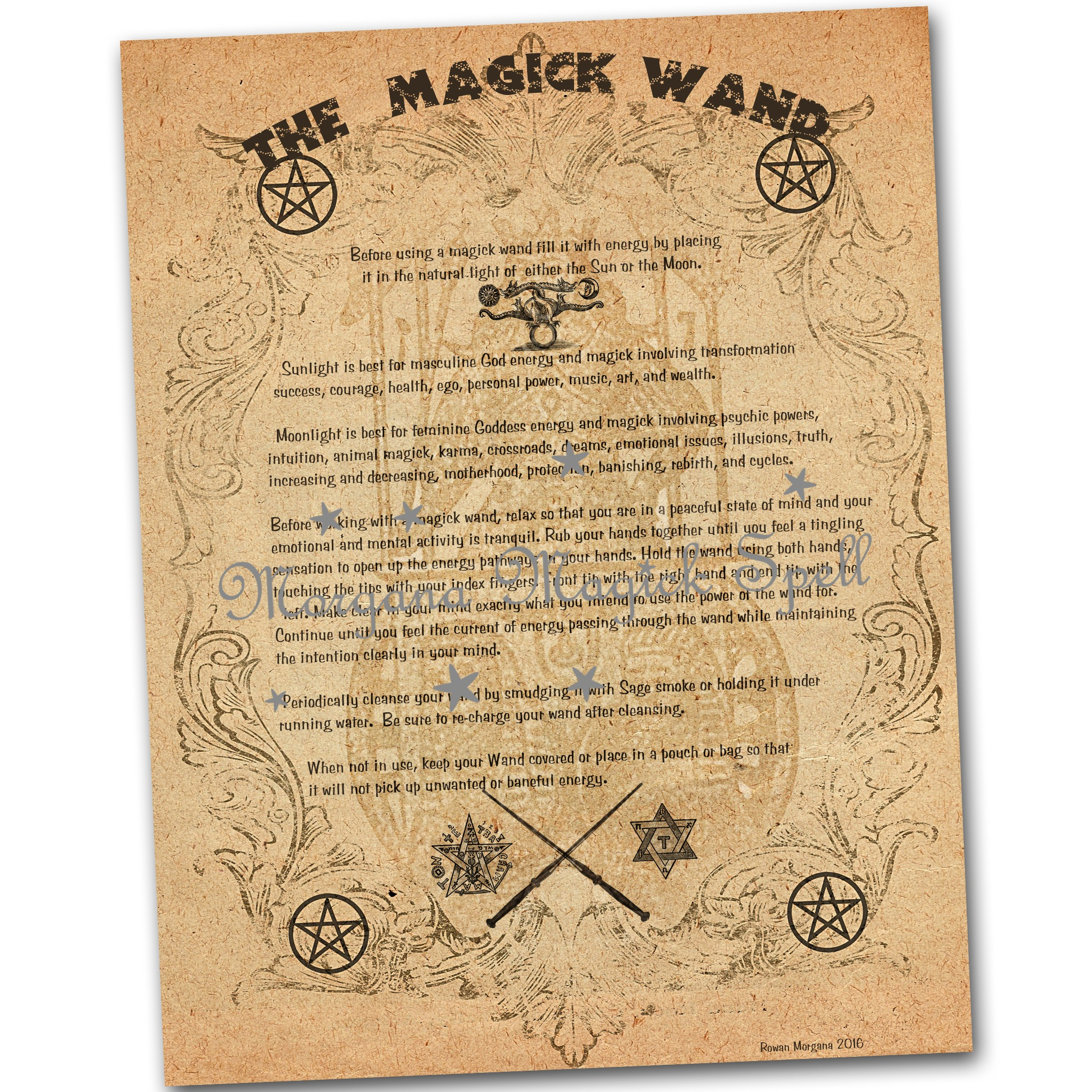 The MAGICK WAND