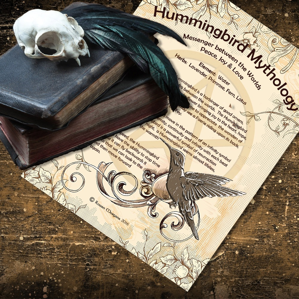 HUMMINGBIRD MYTHOLOGY and CORRESPONDENCES