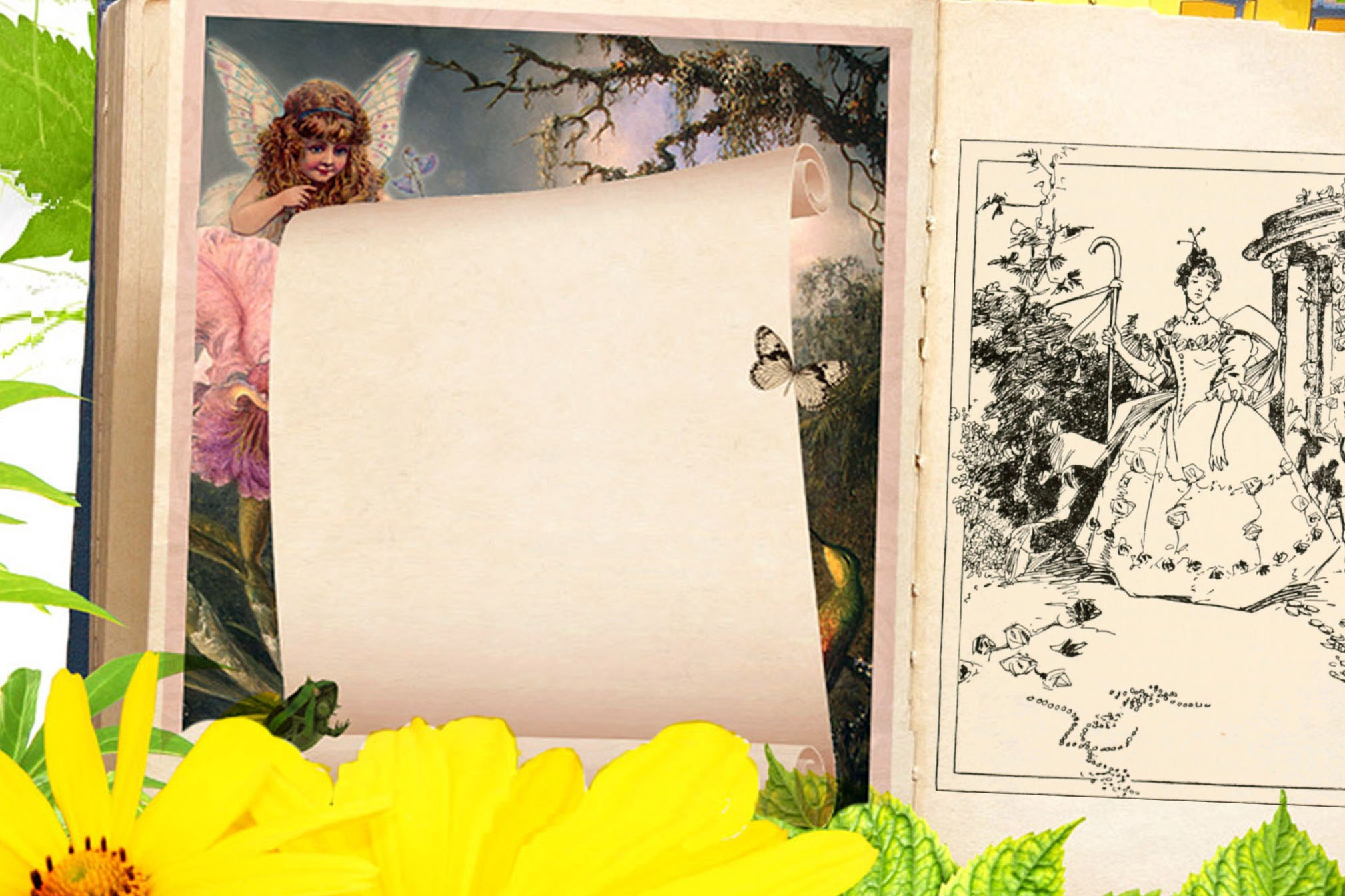FAERIE GARDEN Page for Book of Shadows