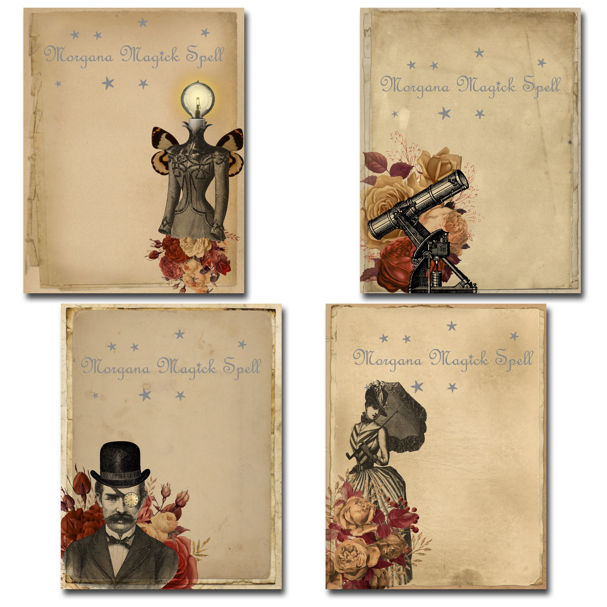 STEAMPUNK Journal 18 Pages