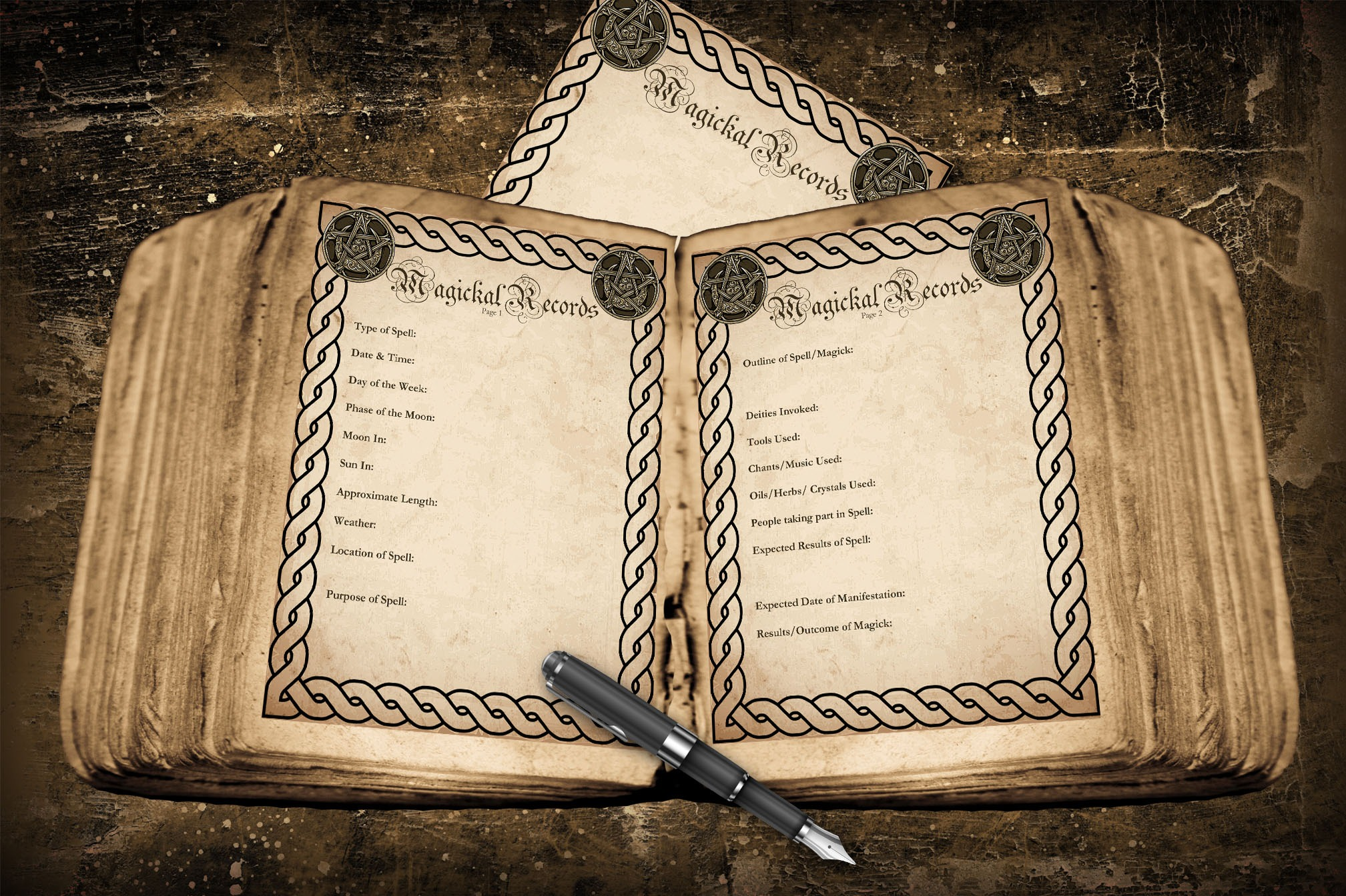 MAGICKAL RECORDS PAGES