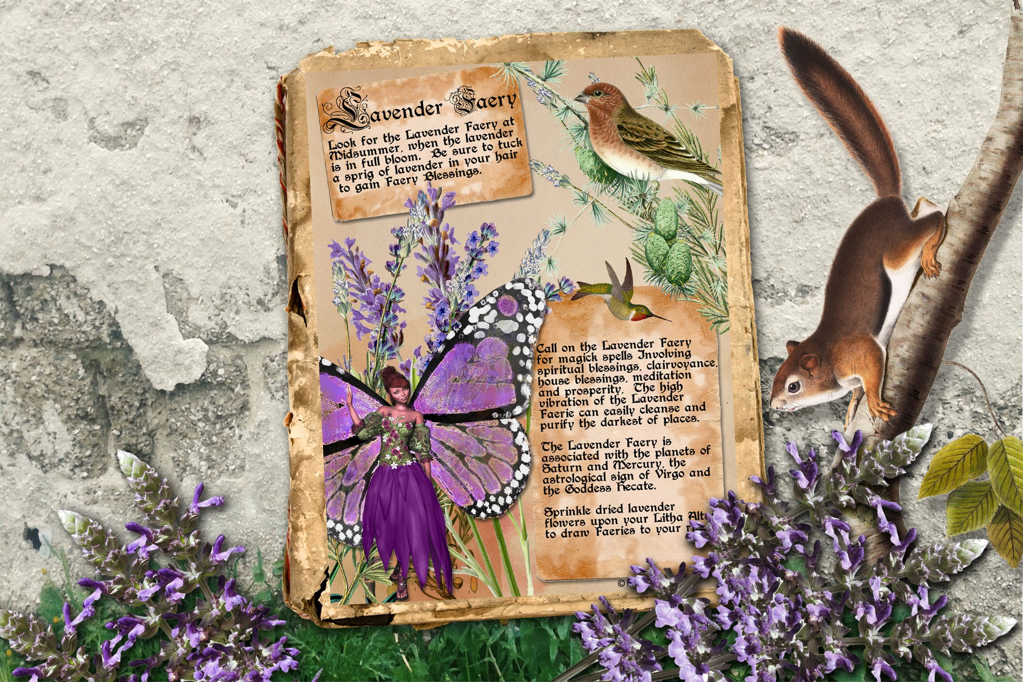 LAVENDER FAERIE   Realm of the Fey