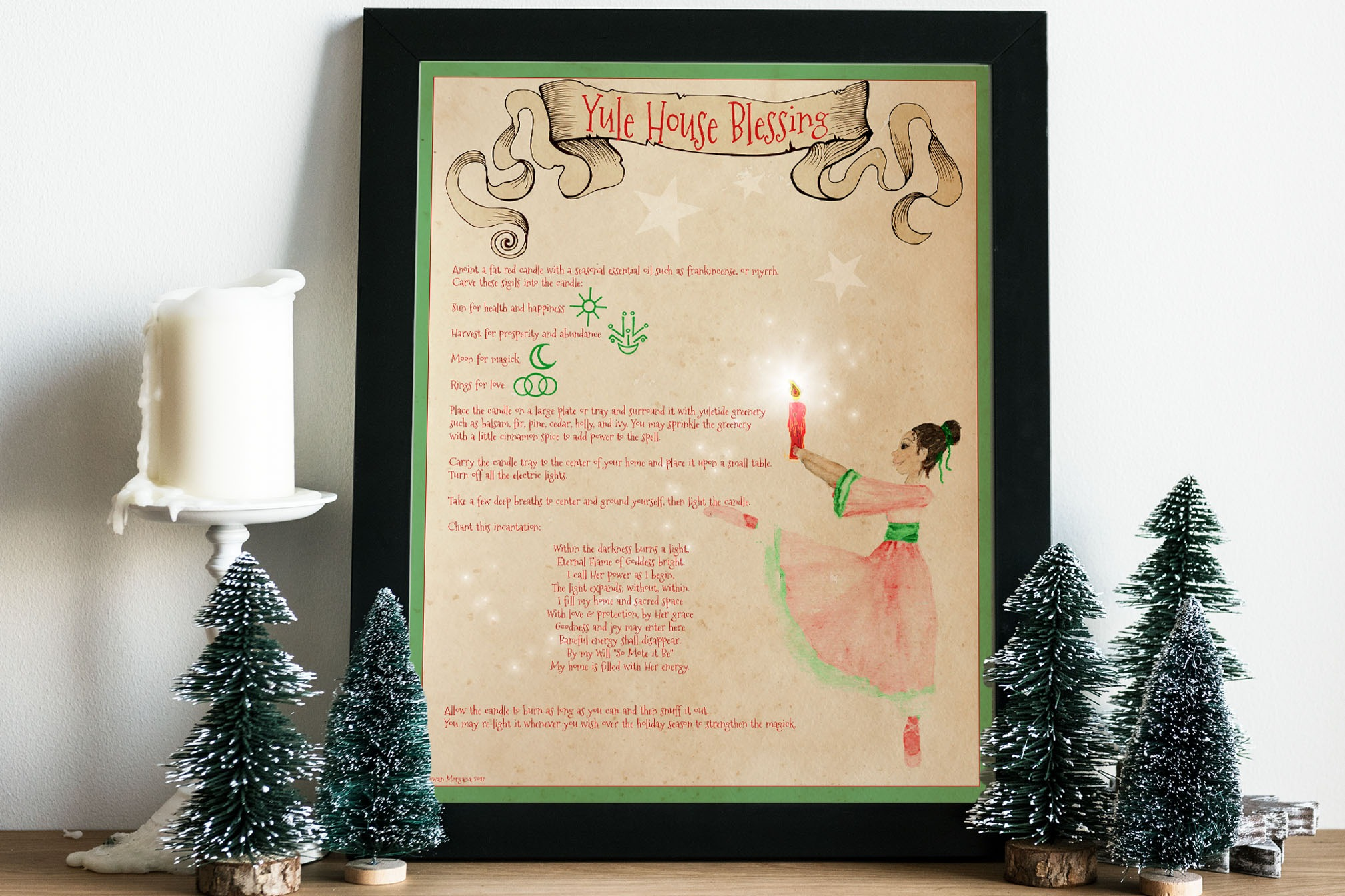 YULE HOUSE BLESSING