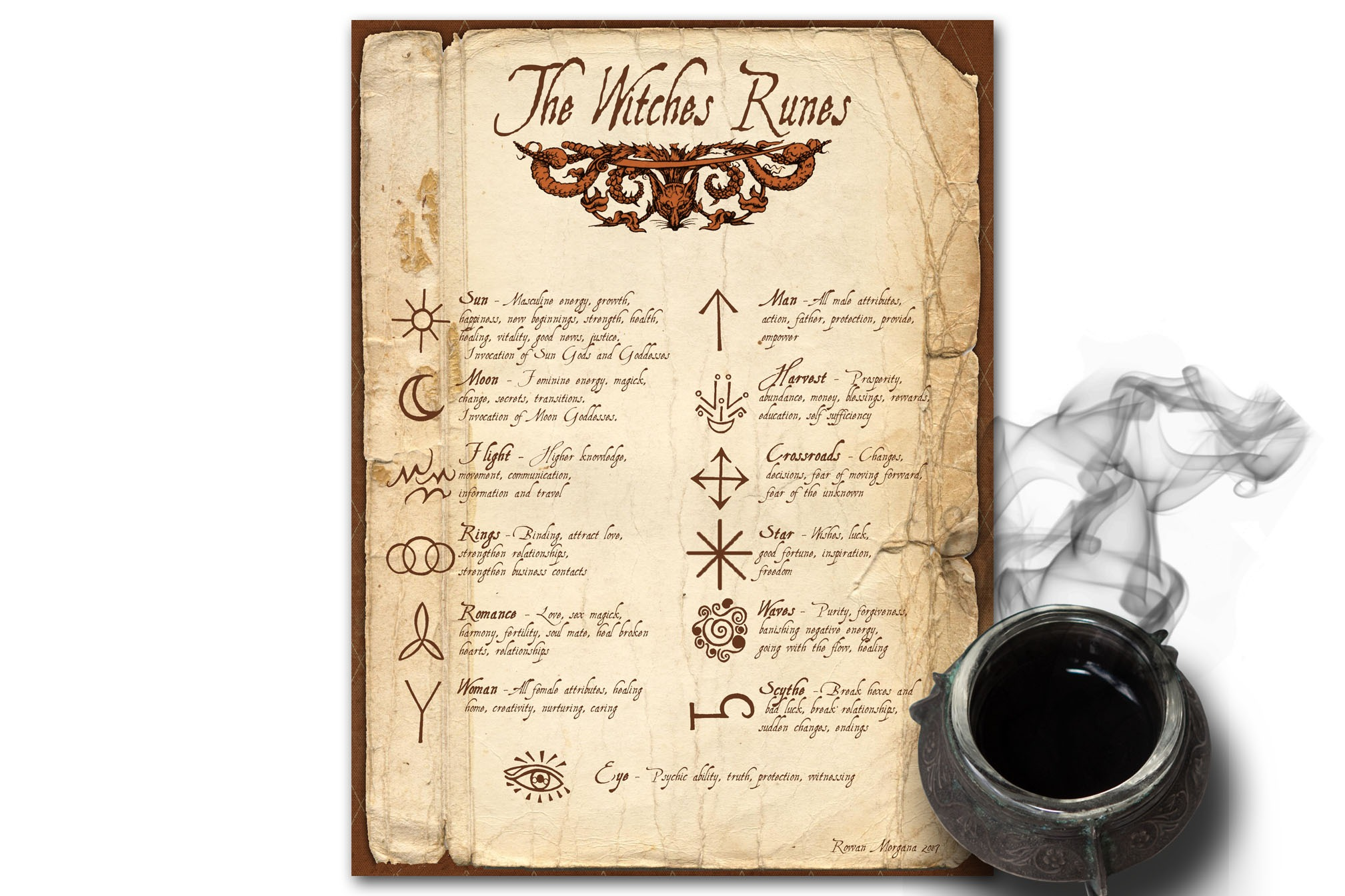 The WITCH'S  RUNES
