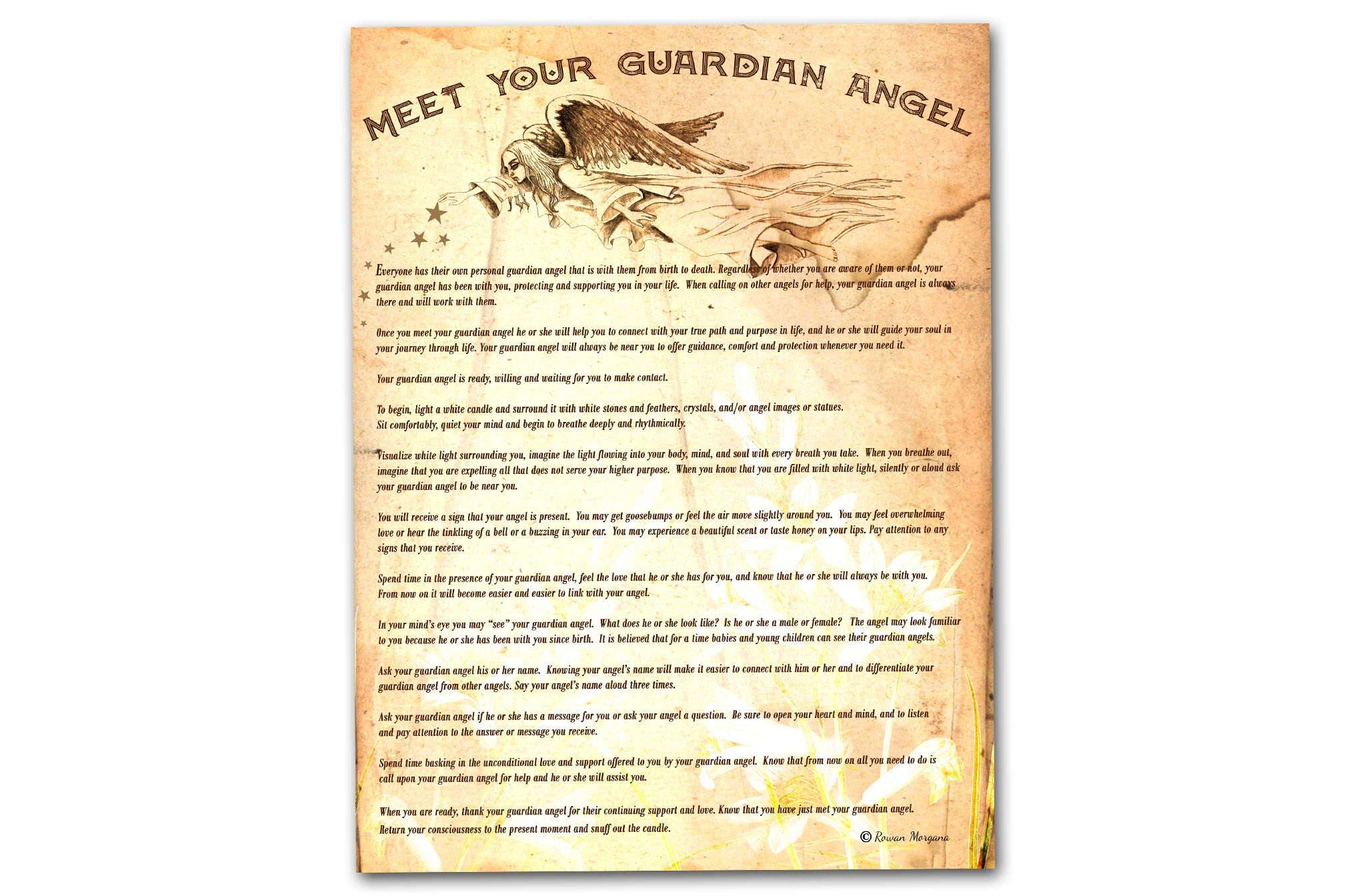 MEET Your GUARDIAN ANGEL RITUAL