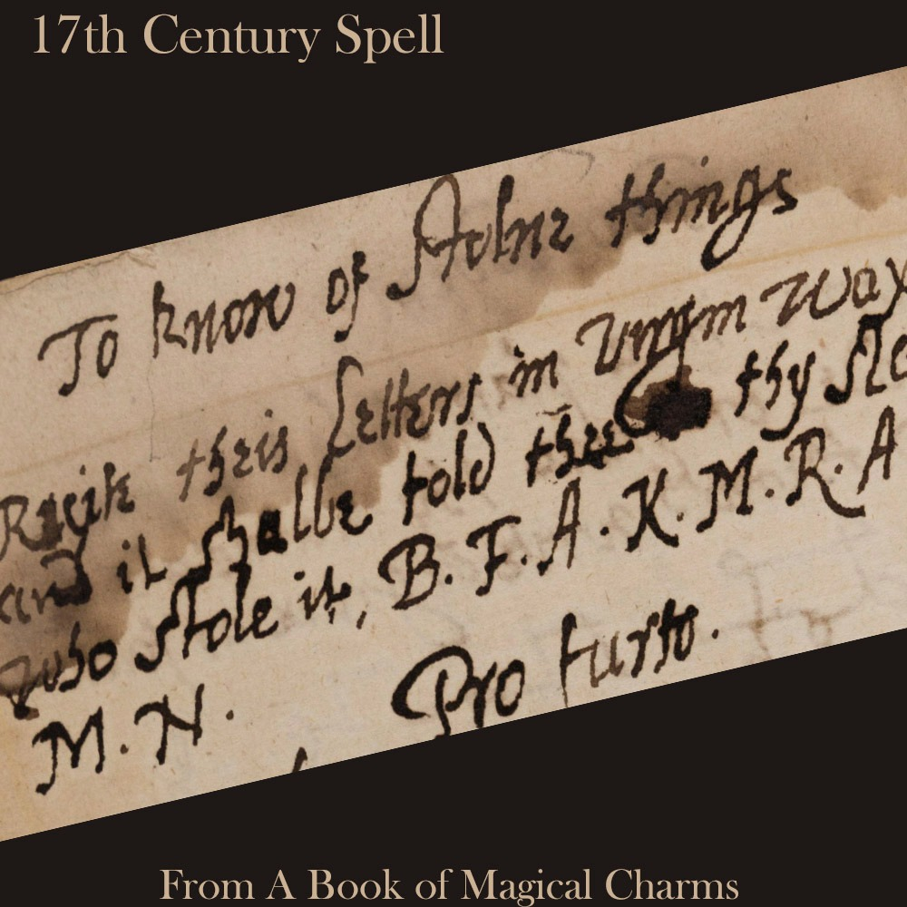 ANCIENT SPELLS Bundle |17th Century | Witchcraft Grimoire Pages | 25 Pages