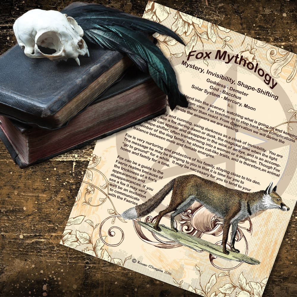 FOX MYTHOLOGY and CORRESPONDENCES