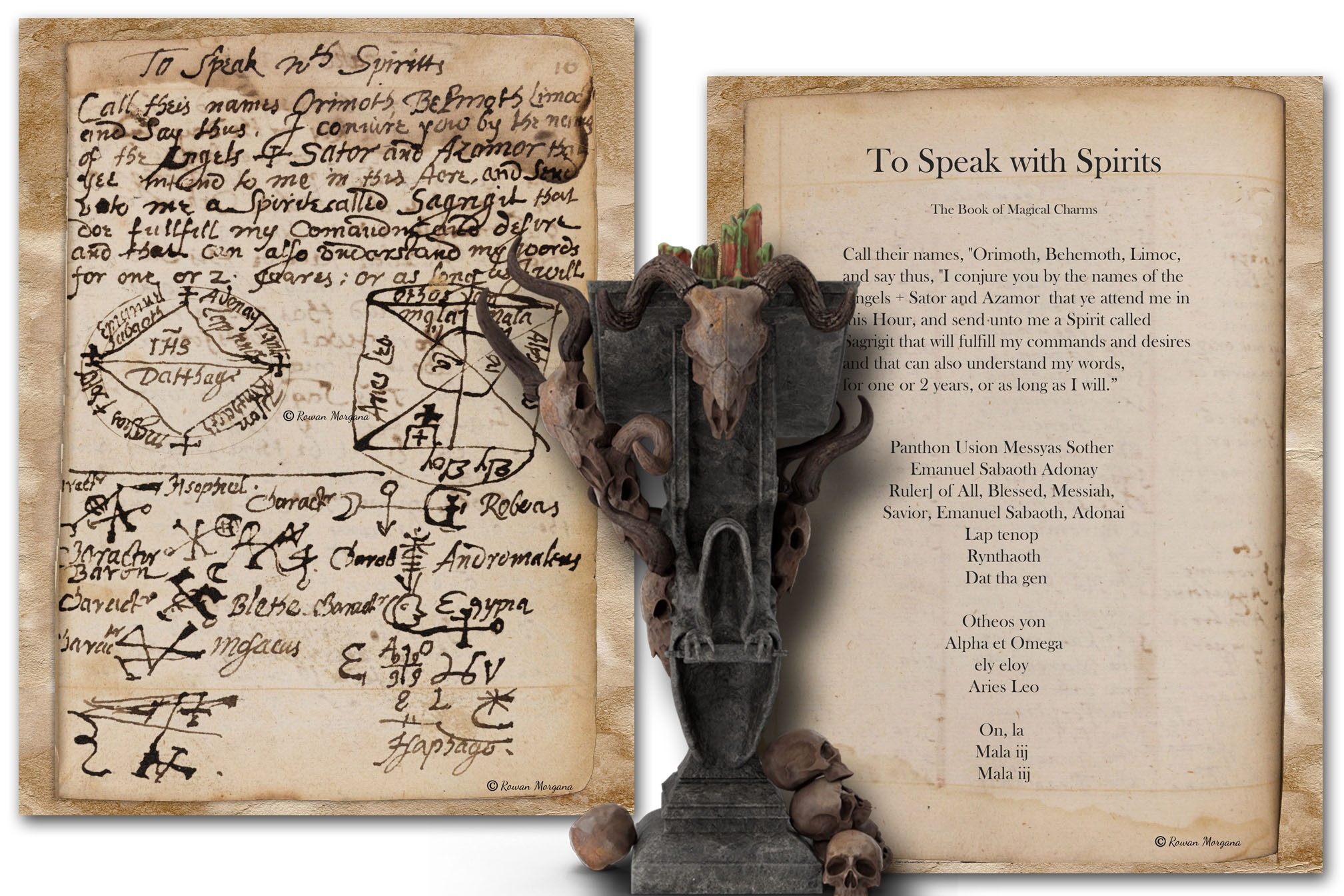 ANCIENT SPELL BOOK - All 26 Pages