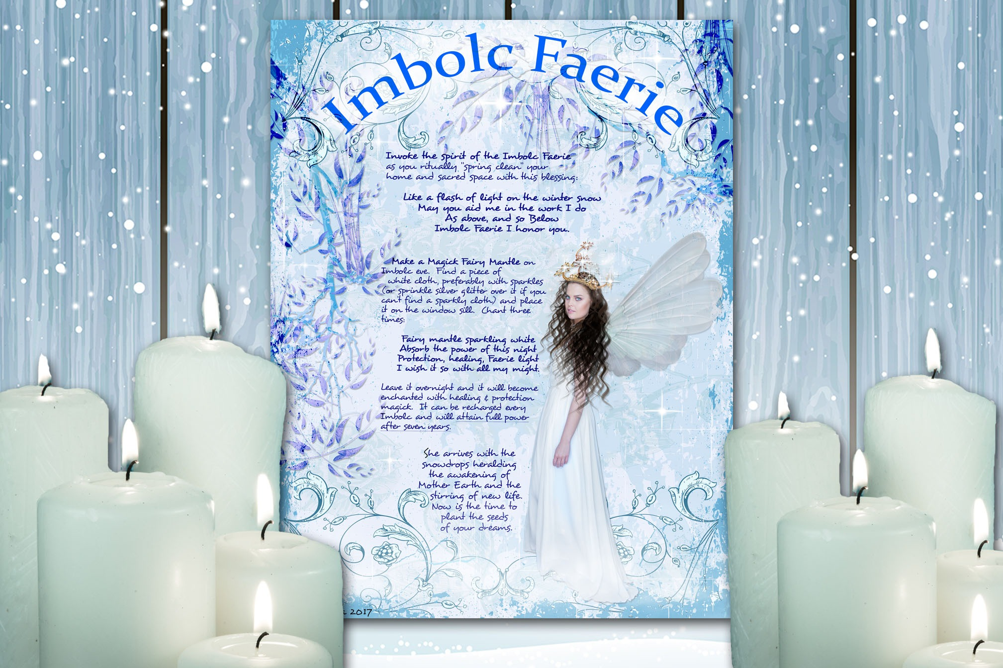 THE IMBOLC FAERIE Realm of the Fey Lore
