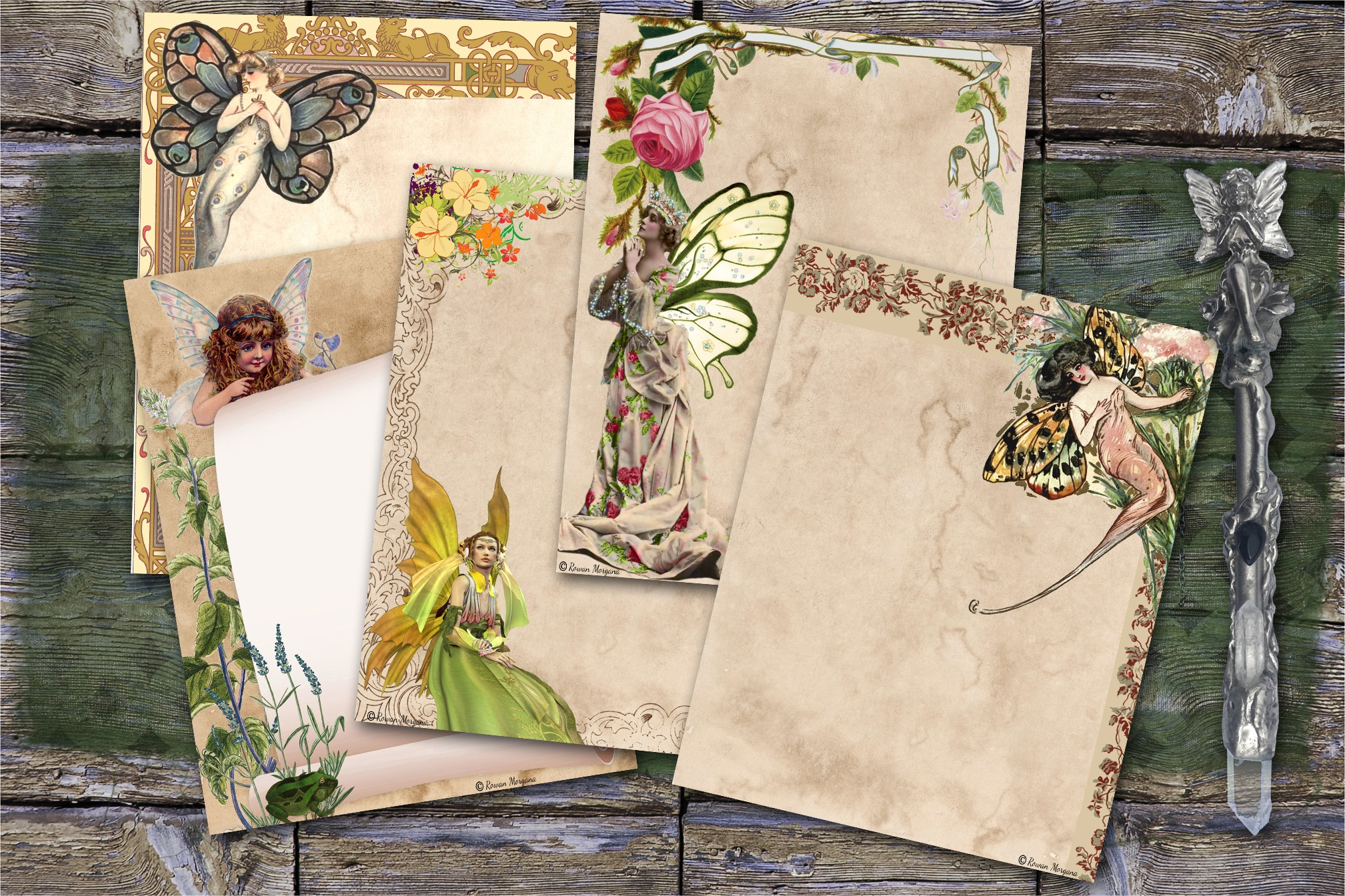 FAERY JOURNAL Book of Shadows Pages