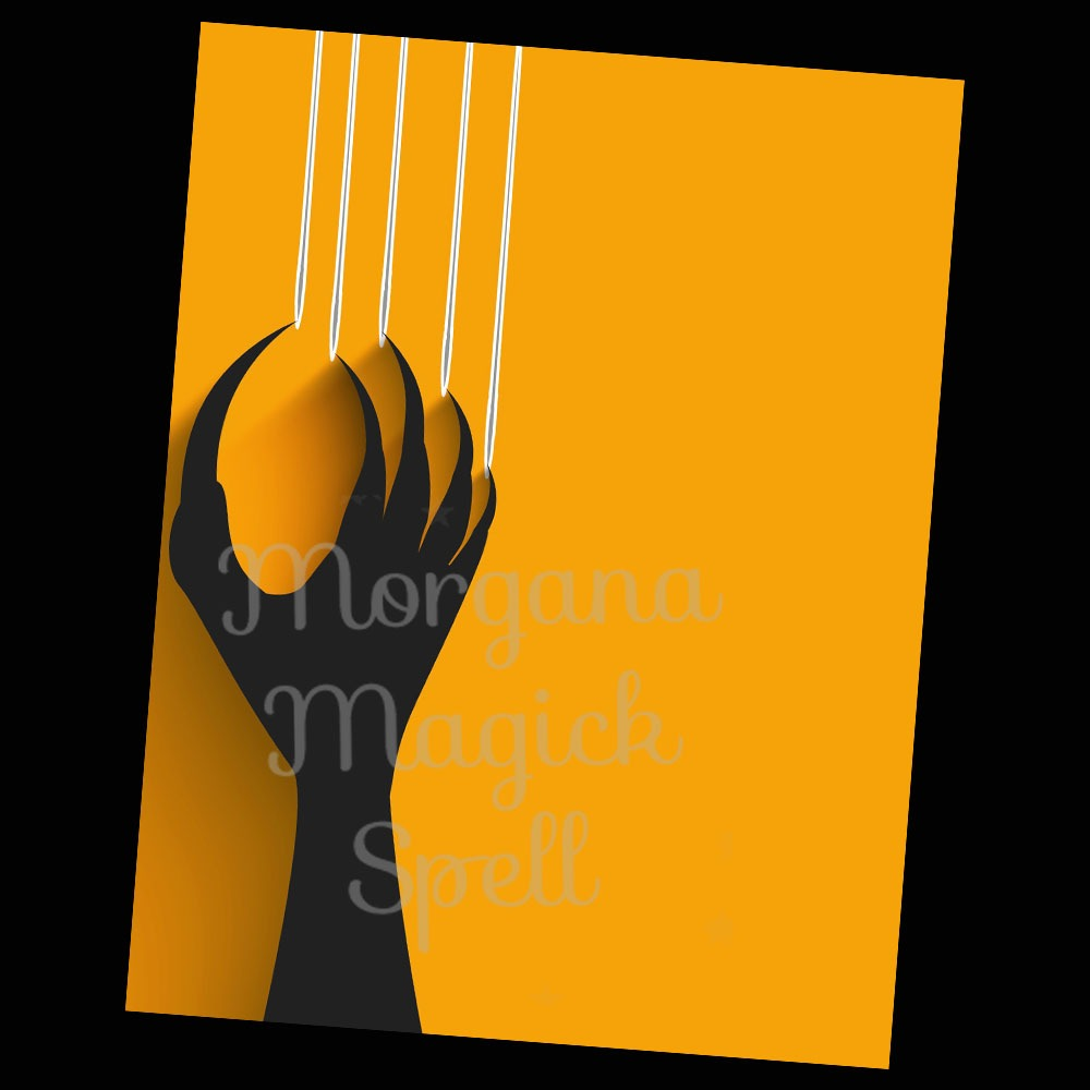 CLAW HAND HALLOWEEN Blank Page