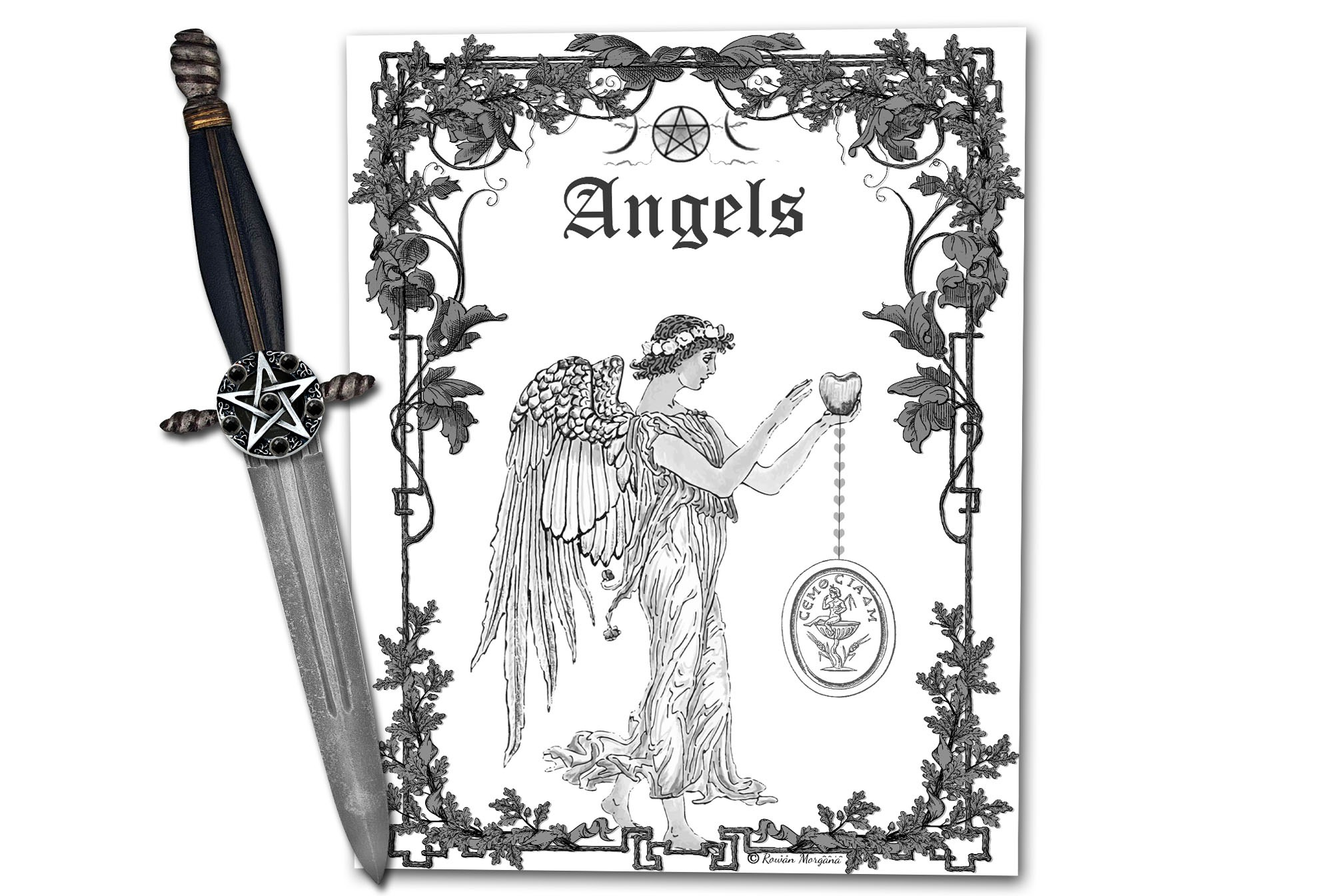 ANGELS Book of Shadows Title Page