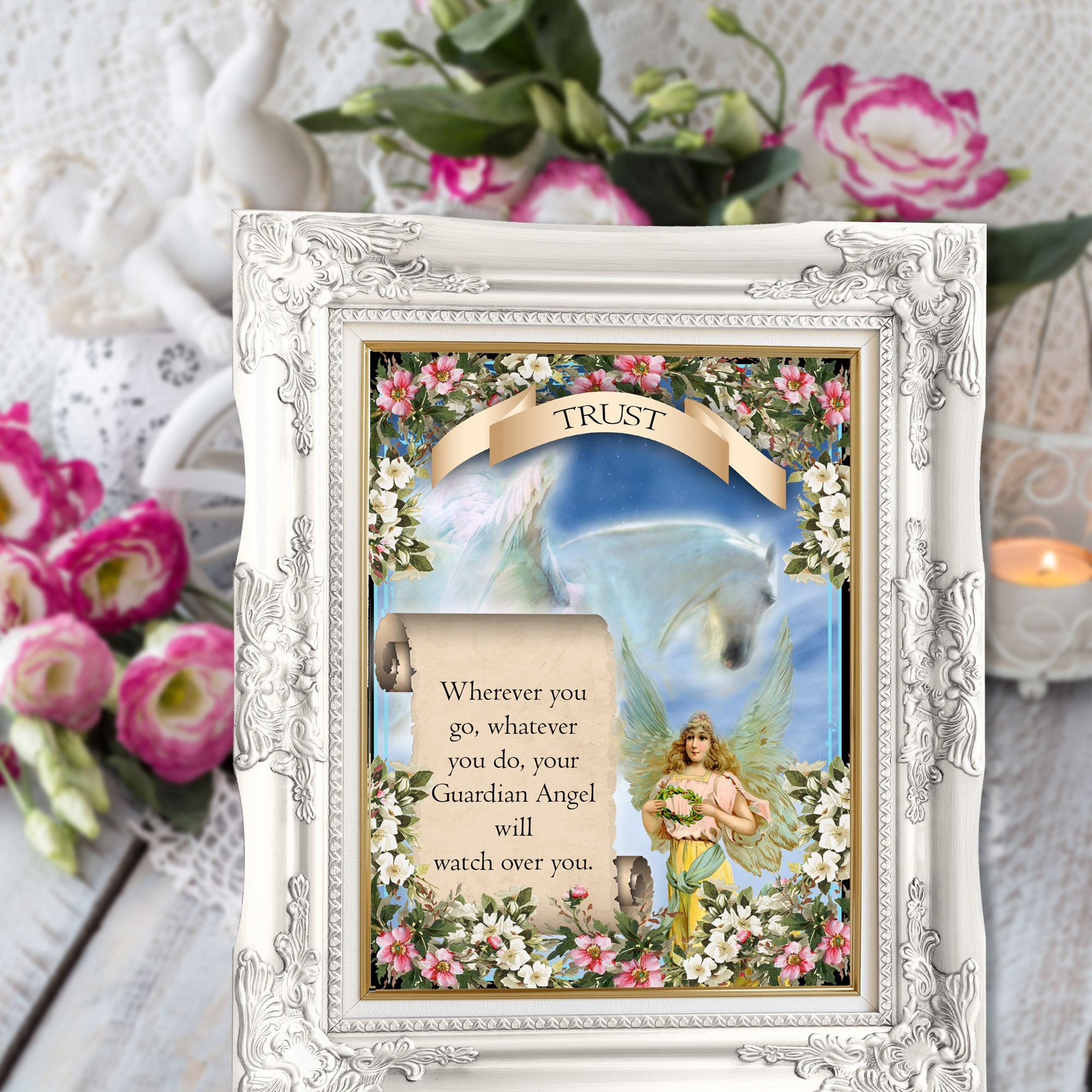 ANGEL ALTAR CARDS -  Angelic Inspiration