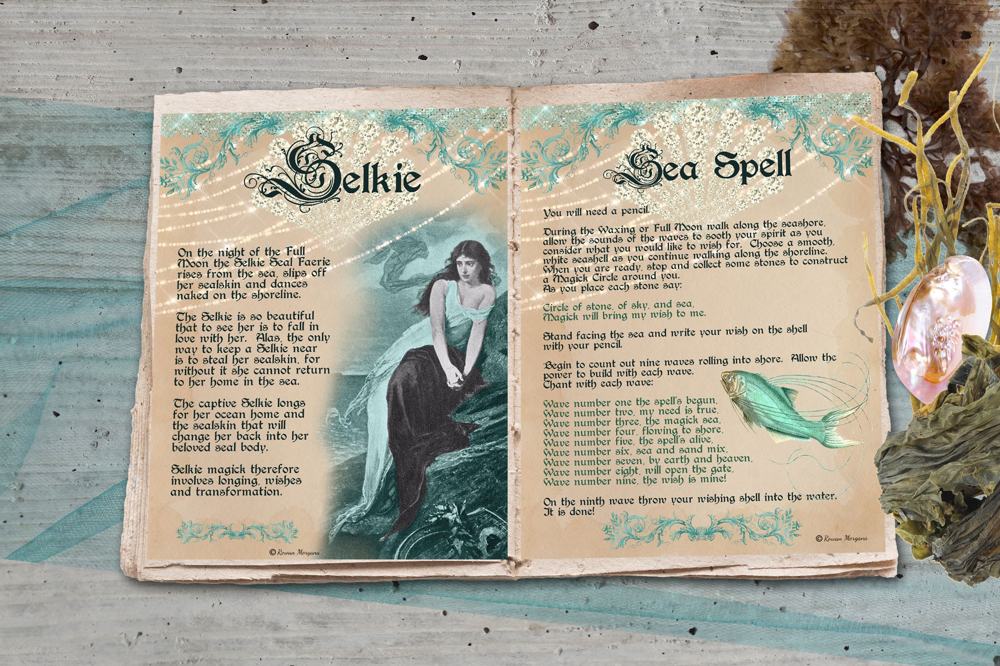 SELKIE  WISHING SPELL Realm of the Fey