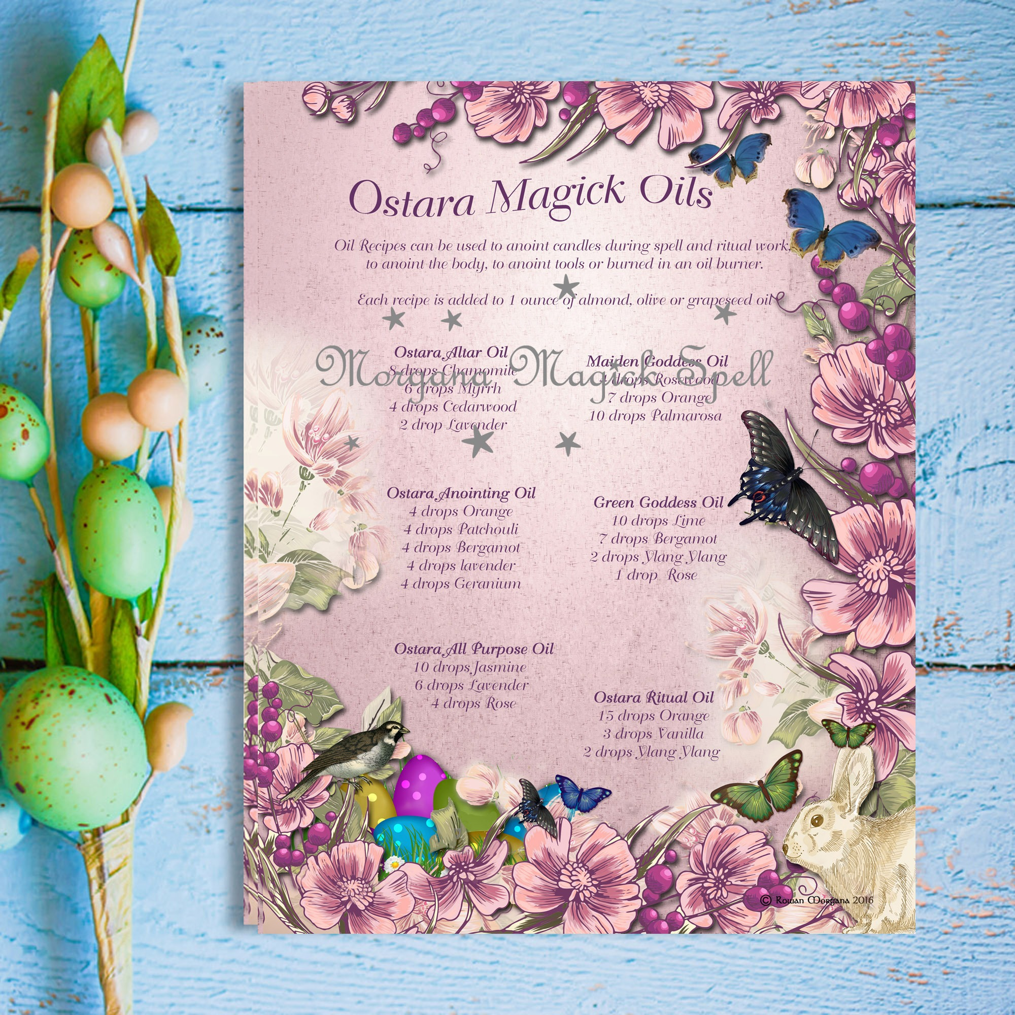 OSTARA MAGICK OILS