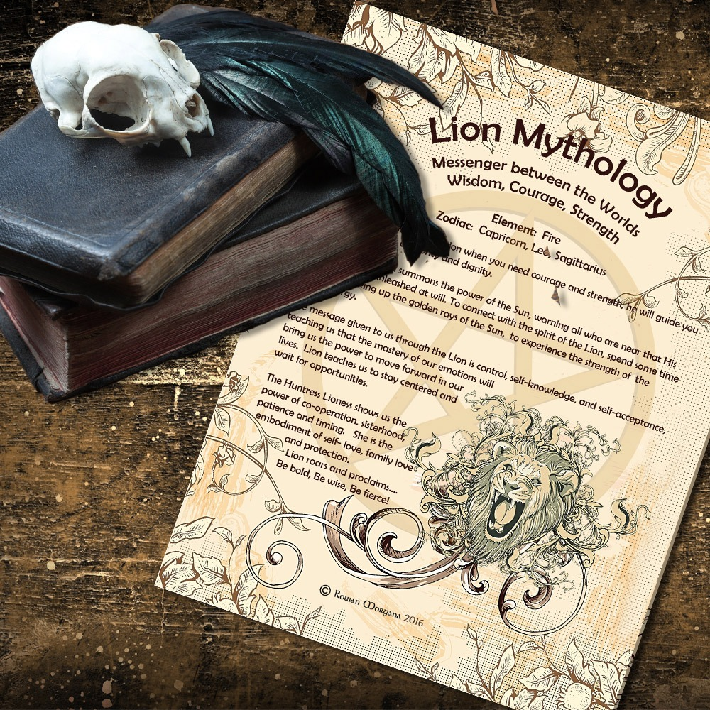 LION MYTHS and CORRESPONDENCES