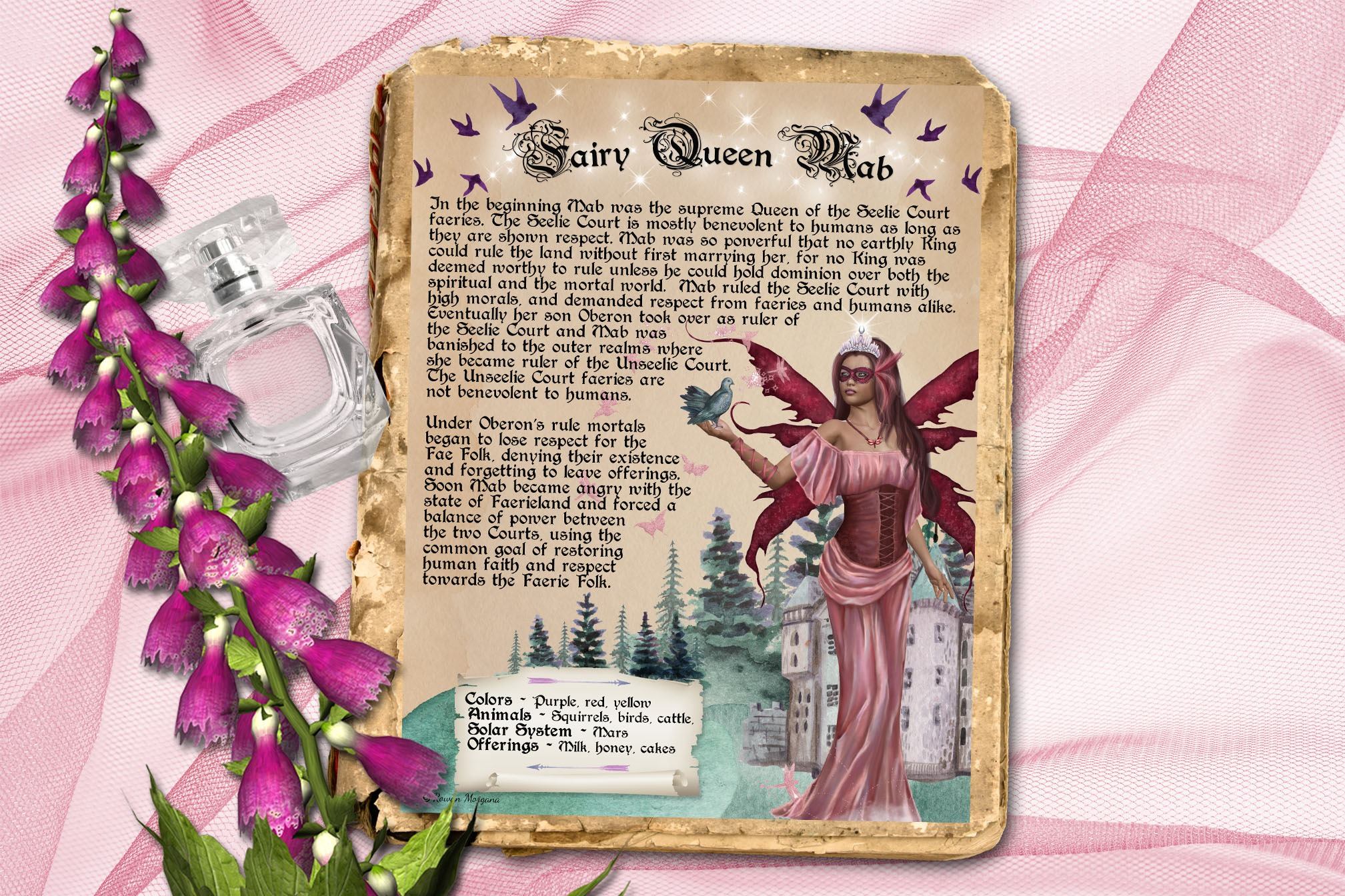 MAB the FAERIE QUEEN Realm of the Fey