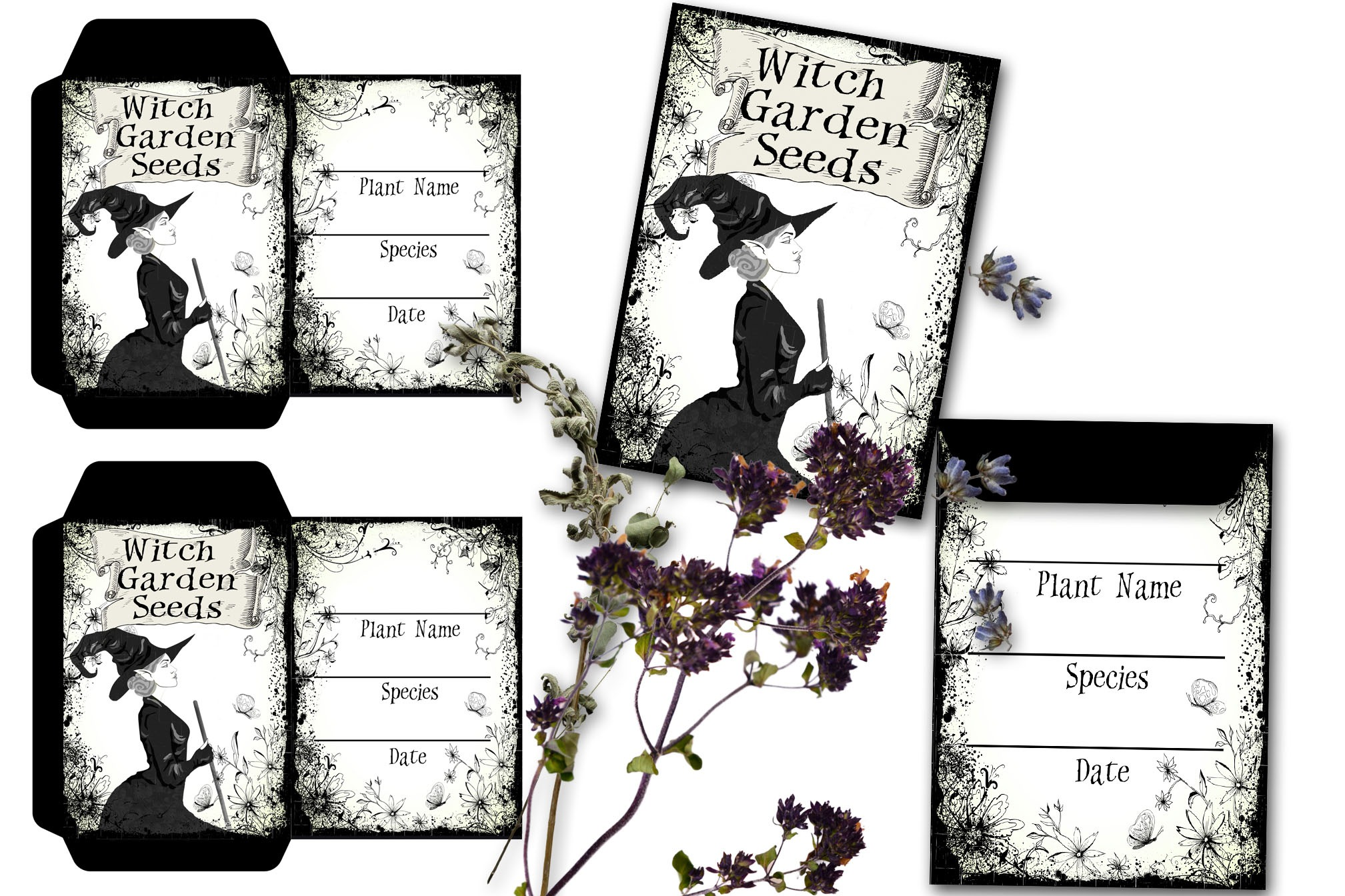 WITCH SEED SAVER ENVELOPE