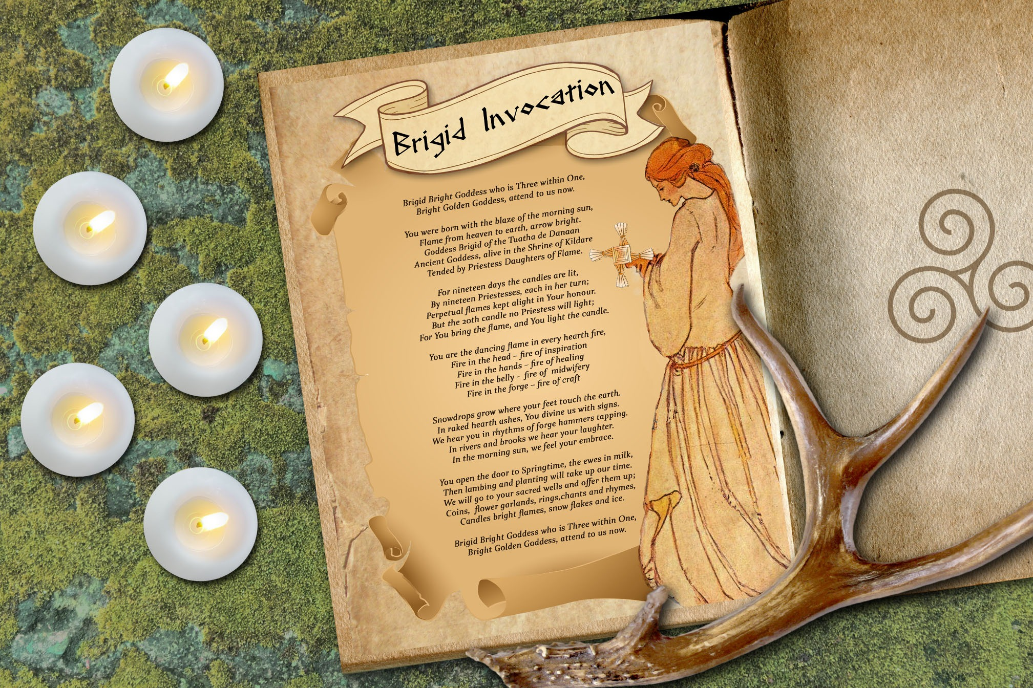 GODDESS BRIGID INVOCATION