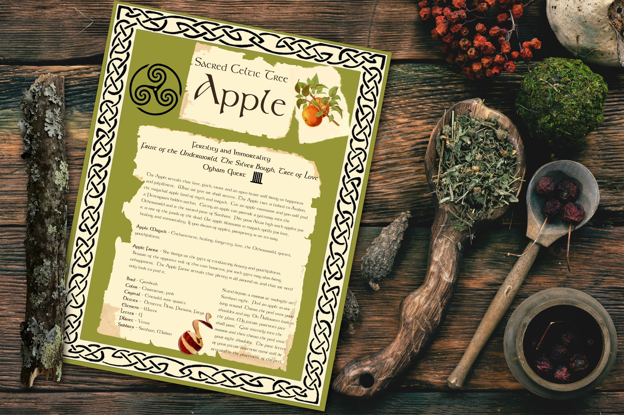 APPLE CELTIC TREE