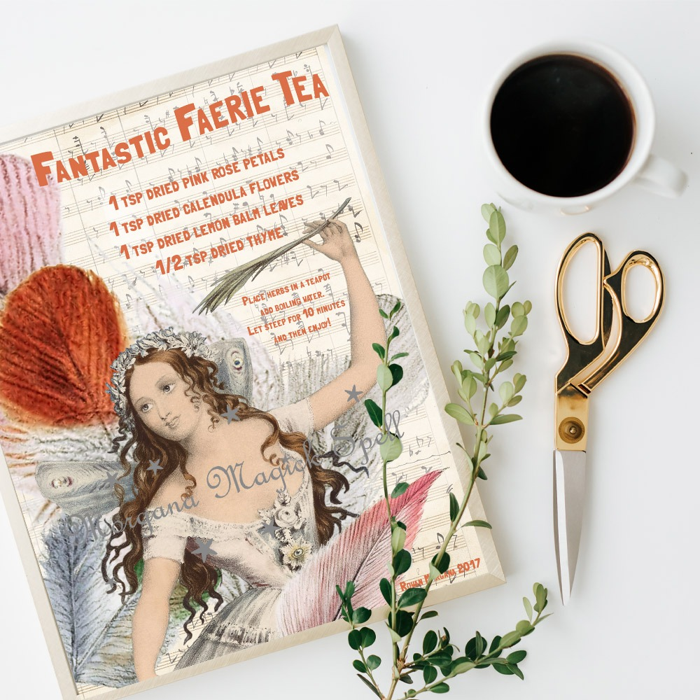 FAIRY TEA Fantastic Recipe - Instant Download