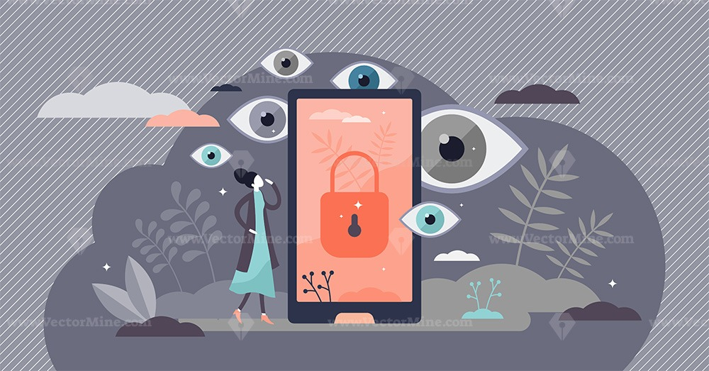 Privacy as personal data protection with security safety tiny persons concept