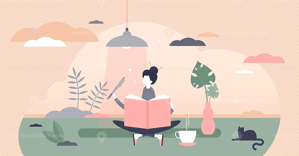 Journaling vector illustration