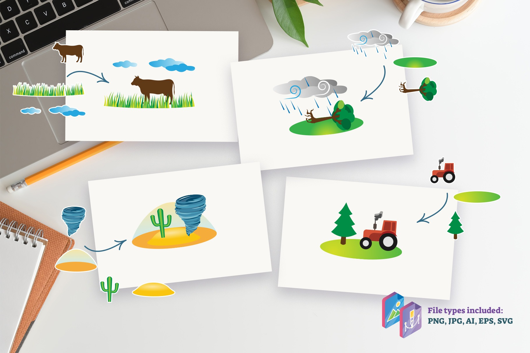 Environment Scenes for Educators