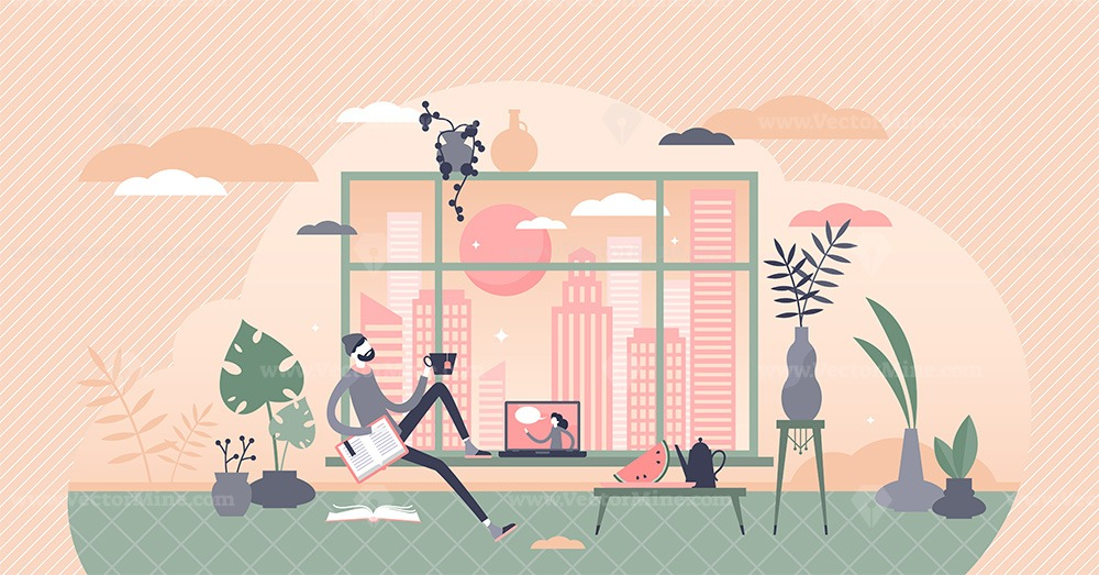Free time vector illustration