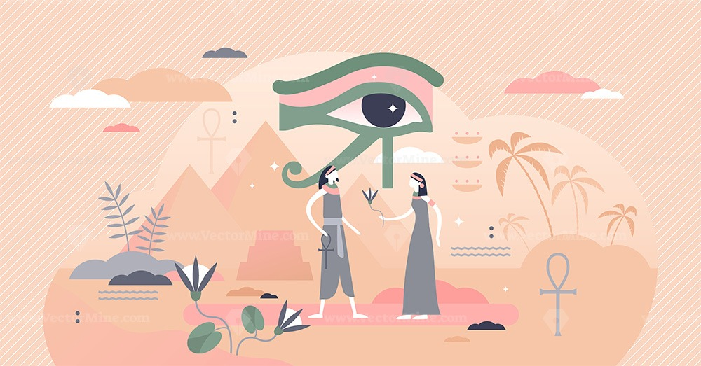 Ancient Egypt vector illustration