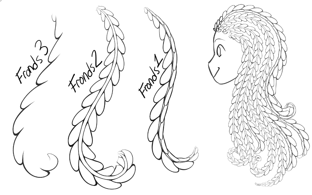 [CSP Brush] Fronds