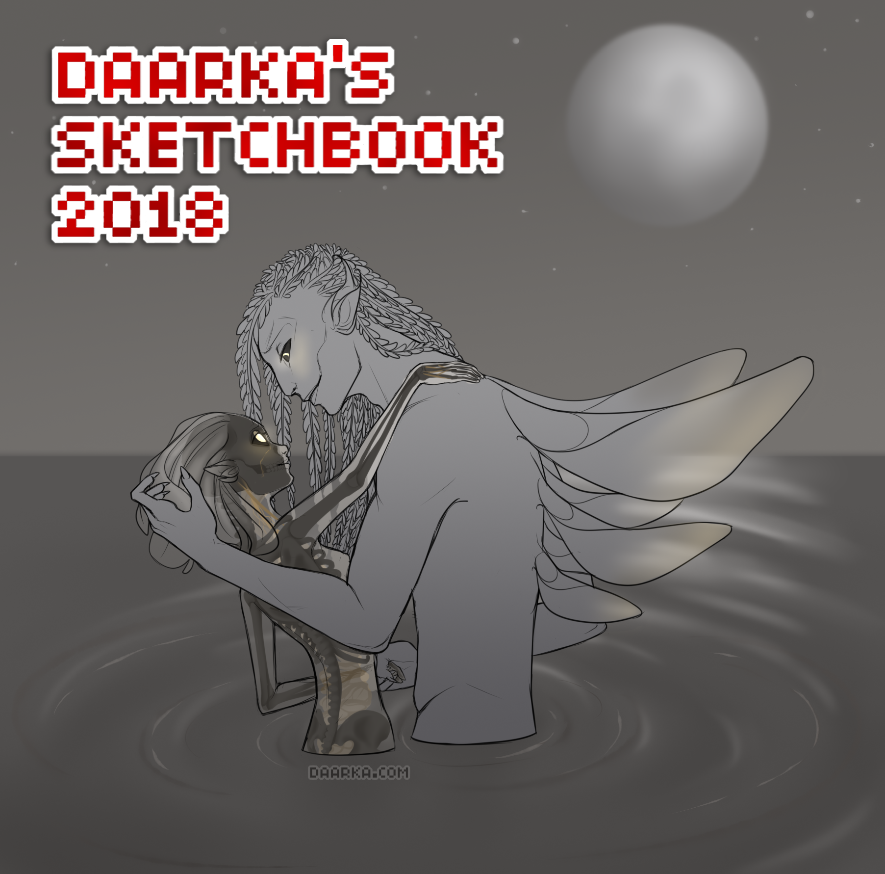Daarka's Sketchbook 2018