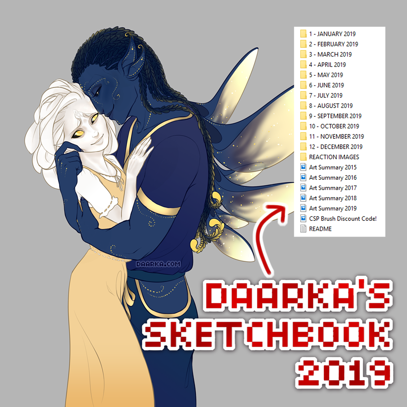 Daarka's Sketchbook 2019