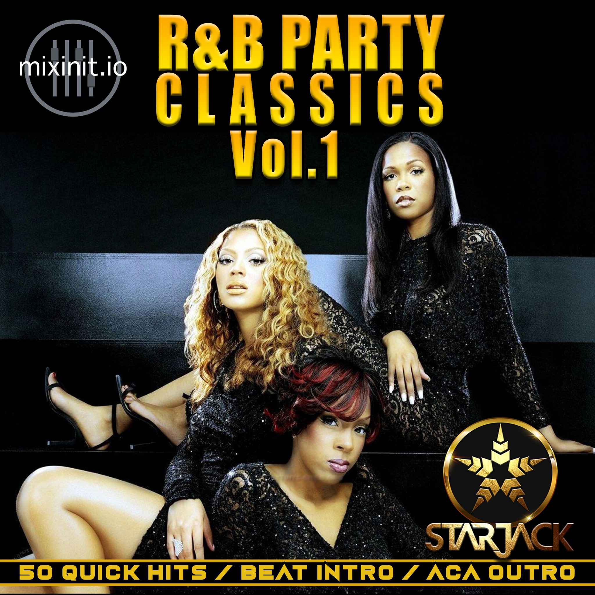 Starjack - R&B Party Classics Vol.1 (Acap Out Quick Hits)