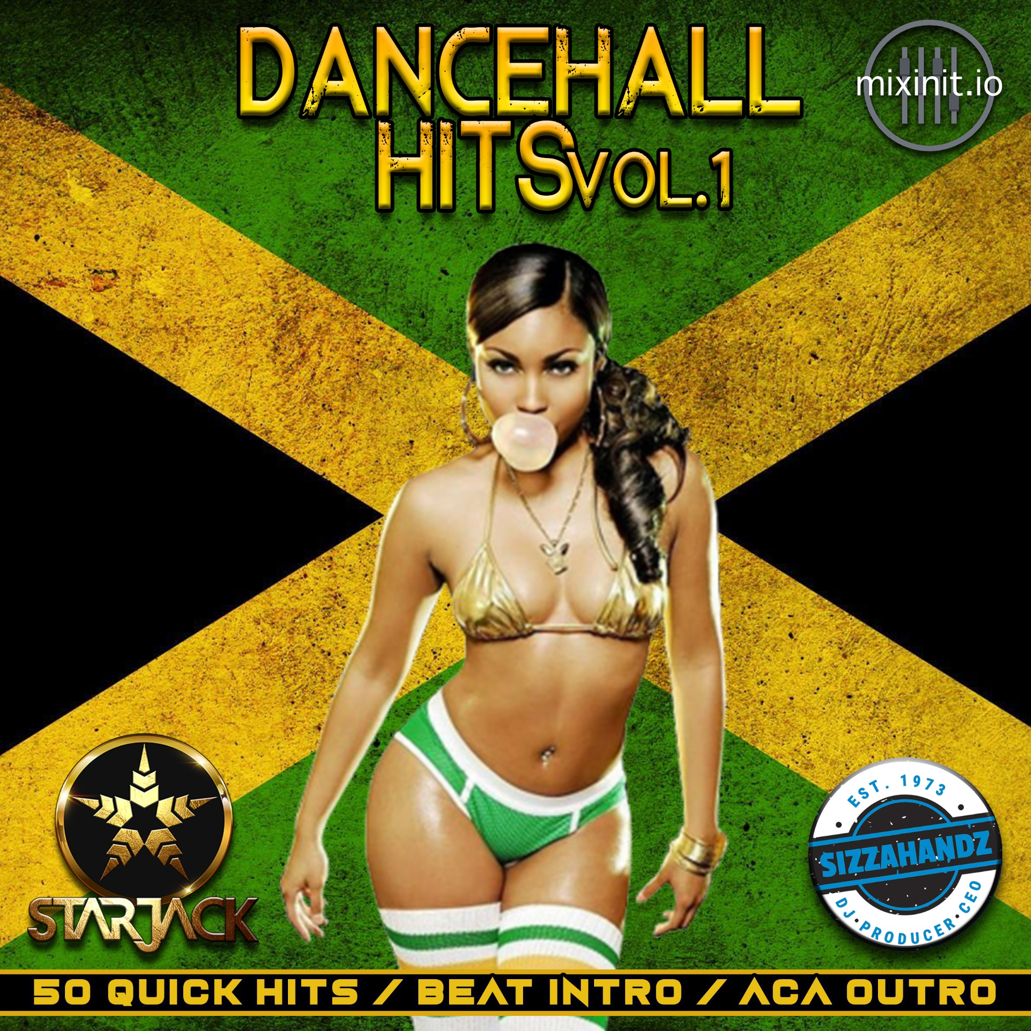 Starjack & Sizzahandz - Dancehall Hits Vol. 1 (Quick Hit Acapella Out)